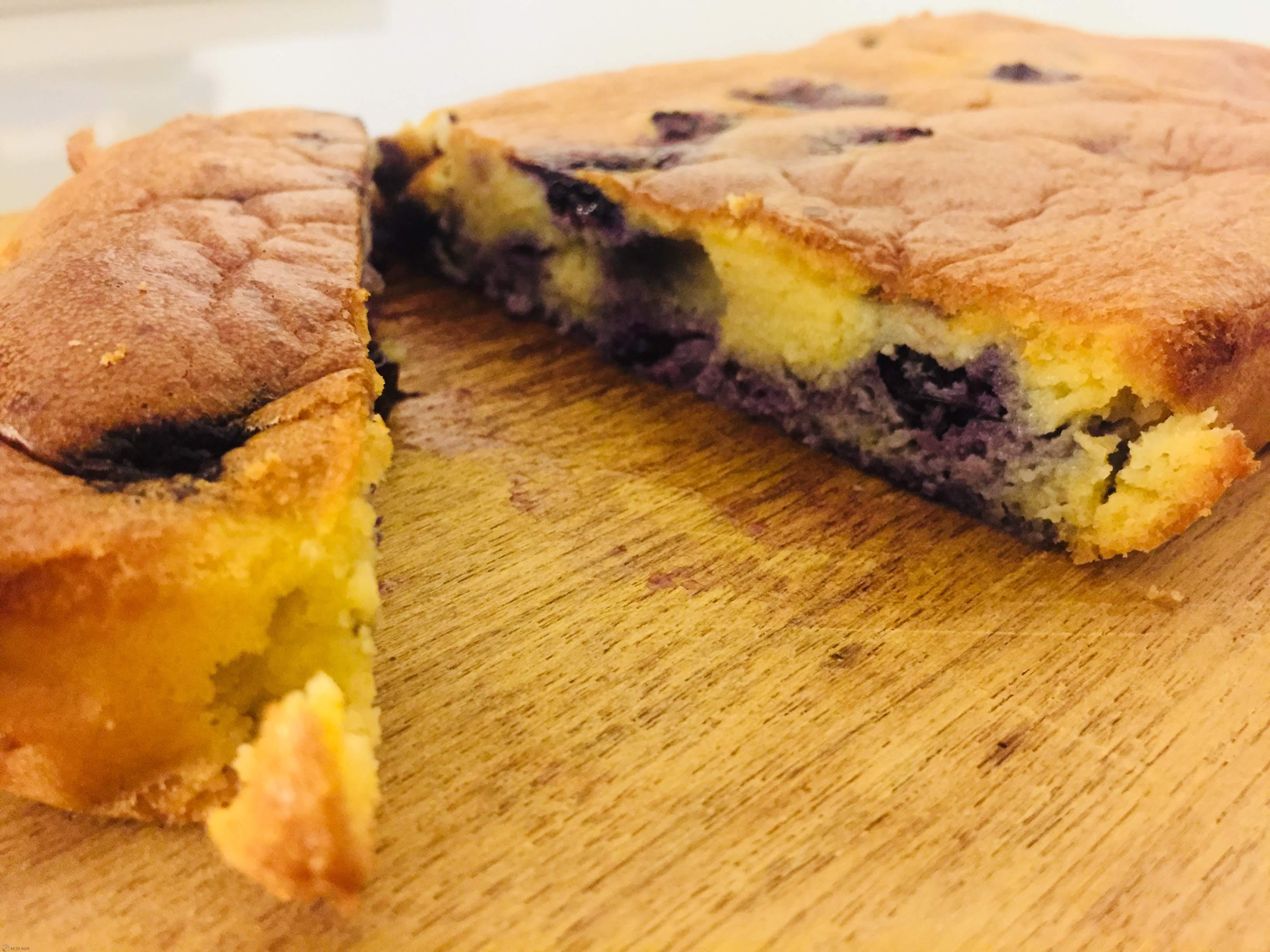 blauwe bessencake