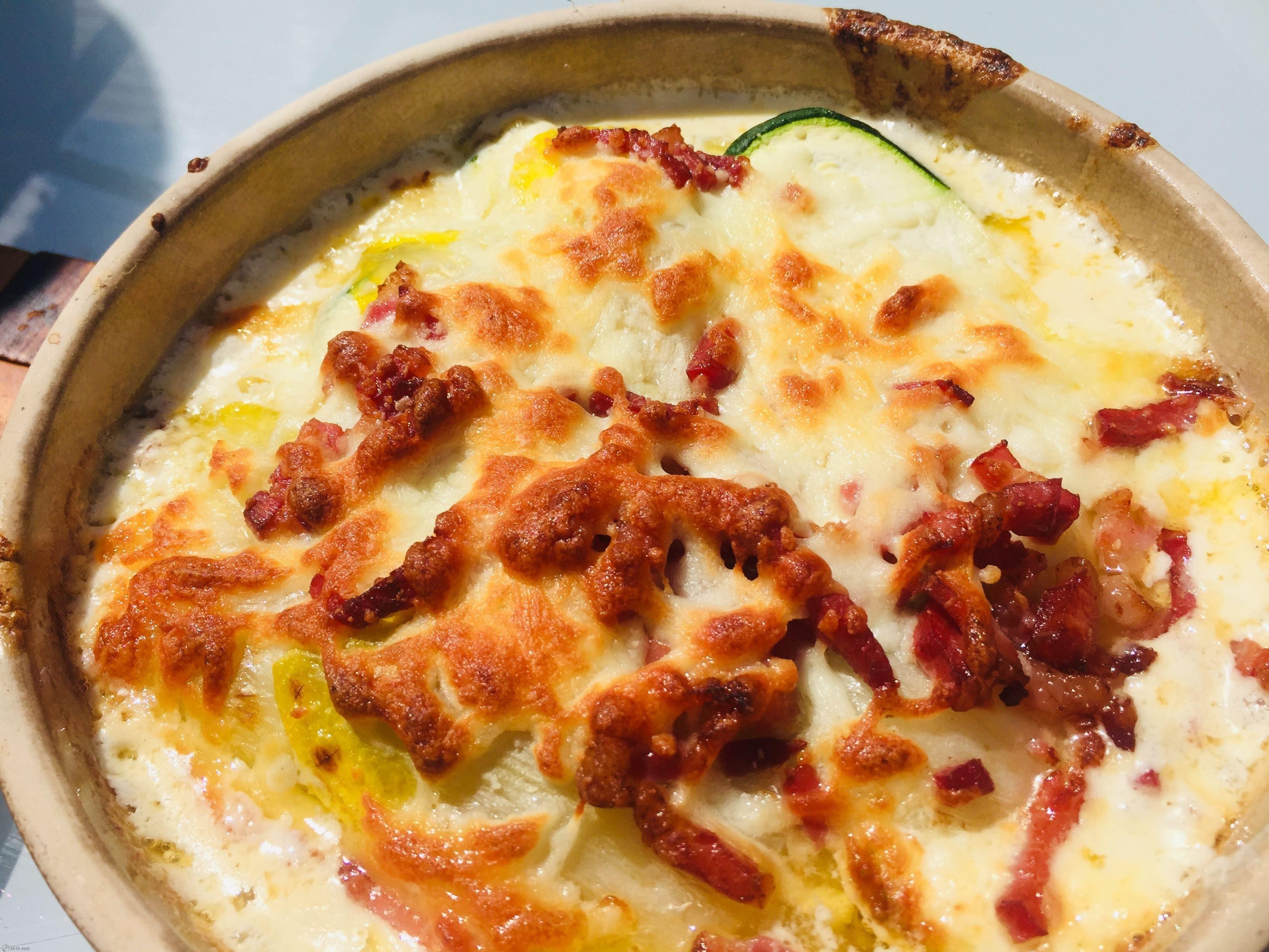 lasagne witloof met spek