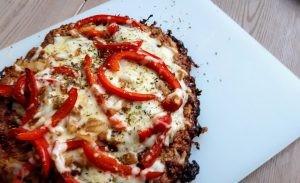 keto vleesbrood pizza paprika