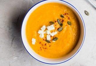 Pompoen Gember soep