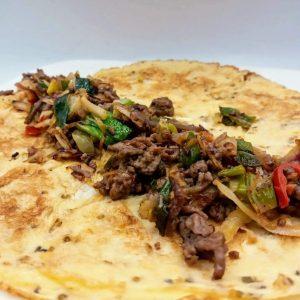 restjes omelet