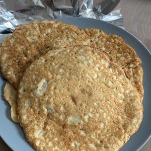 Keto Pancakes met amandelmelk